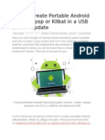 How to Create Portable Android OS