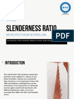 Slenderness Ratio