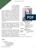 Georg Simmel - Wikipedia, La Enciclopedia Libre
