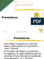 Pronósticos Ing. César García