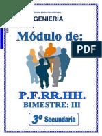 3° SEC - PFRH - III BIM