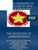 The Sociology of Jurisprudence