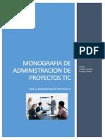 Monografia de Administración de Proyectos