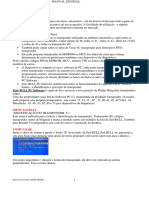 Manual ZED BULL Português