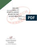 Clases de Auditoria y Postulados