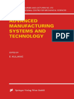 Advanced Manufacturing Systems and Technology
