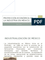 Proyección Económica de La Industria en México