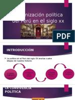 Organización Política Del Perú en El Siglo Xx