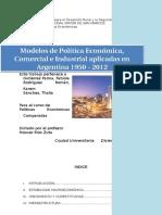 Argentina - Política Económica y Comercial.docx