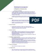 Meodologia de La Investigacion 1 Unidad 1