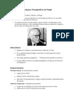 Paradigma Psicogenética de Piaget