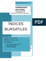 Indices Bursatiles