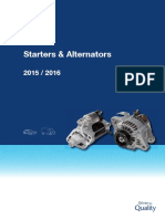 Denso - Starter and Alternator 2015-2016