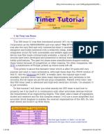 555 Timer-Oscillator Tutorial