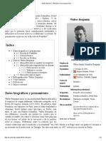 Walter Benjamin - Wikipedia, La Enciclopedia Libre