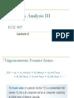 ECE307 Lecture 2