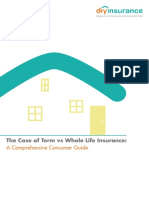 The Case of Term vs Whole Life Insurance eBook