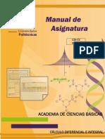 Ma c. Basicas- Cálculo Diferencial e Integral-plan 2010