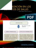 6. Organizacion en los servicios de salud.pptx