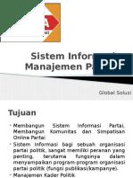 Sistem Informasi Manajemen Partai