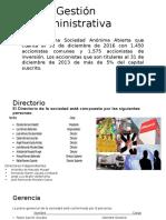 Gestión administrativa alicorp