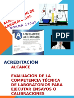 Acreditacion de Laboratorios