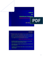 Calibration and Measurement Traceability