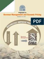 Revenue Management - 2016
