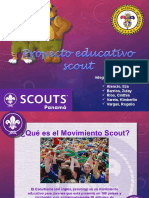 proyecto educativo scout