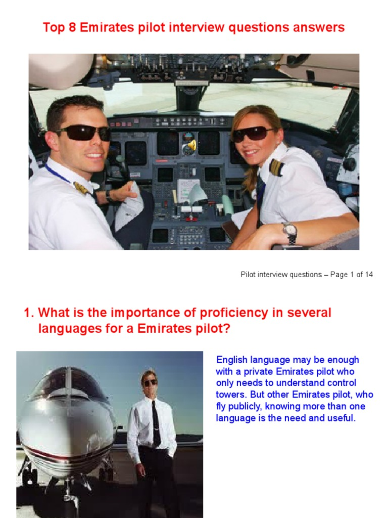 airline pilot interview question answers emirates airline air traffic control - Airline Pilot Job Interview Questions And Answers