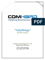 TALLYWINGS FEATURES