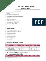 SOXD-XX99-40 SINOVO TELECOM