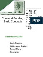 1.0 Chemical Bonding