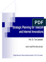 3.Telecom and Internet Innovations-Telecom Standardization and Policy