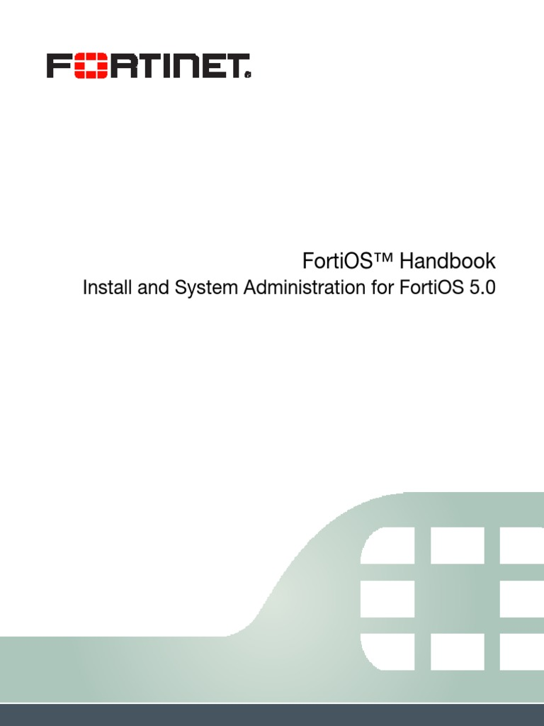 Fortigate Install System Admin 50 | Virtual Private Network