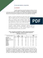 Comportamiento Del Mercado Objetivo Competidor
