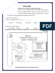 Grade 5 Sample Papers English