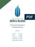 Penganggaran Perusahaan - Anggaran Penjualan