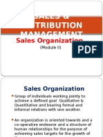 Sales Organization (SDM II)