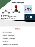 Preparation of Formaldehyde