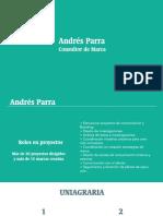 Portafolio Experiencia Andrés Parra