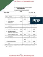 CBSE Class 11 Business Studies Sample Paper SA1 2015 (2)
