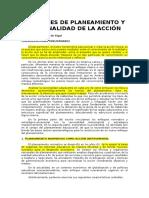 Enfoques de Planeamiento y Racionalidad de La Acción