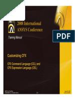 CFX11 Customizing CH2 CCL and CEL
