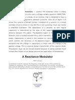 A Reactance Modulator
