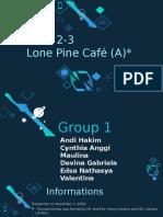 Lone Pine Cafe
