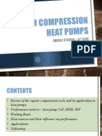 Vapour Compression Heat Pumps