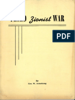The Third Zionist War - 1951 by George W. Armstrong