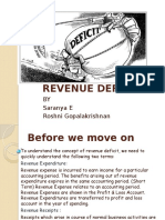 Revenue Deficit