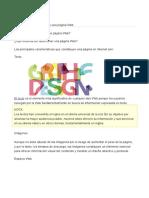 Elementos Que Componen Una Página Web